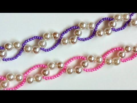 Beaded Bracelets Pattern.