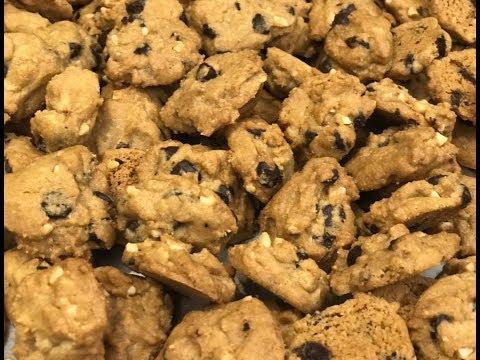 巧克力杏仁饼干 Almond Chocolate Chip Cookies
