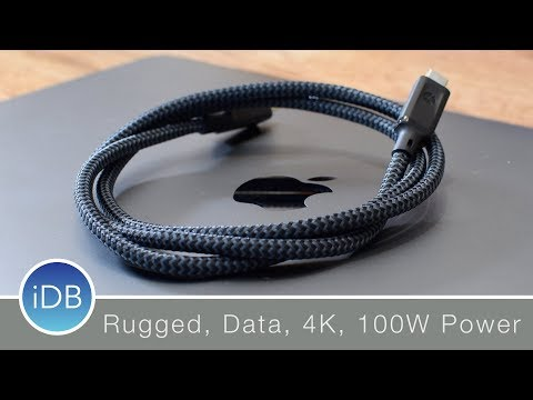 Nomad's USB-C 100W Cable is Perfect for Your MacBook Pro & Other Accessories