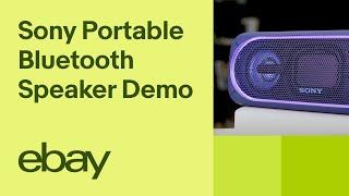 Sony SRSXB40 Portable Bluetooth Speaker   eBay Top Products