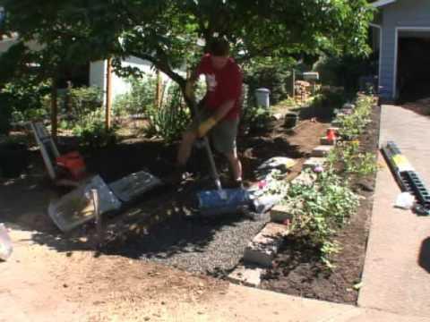 Building a garden path