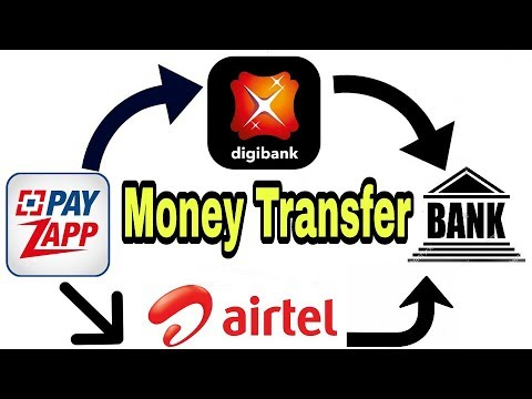 Money transfer Payzaap to DBS Bank And Airtel Payments bank