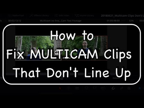 How To Fix MULTICAM Clips That Don't Line Up - Moving Footage within A Multicam Clip