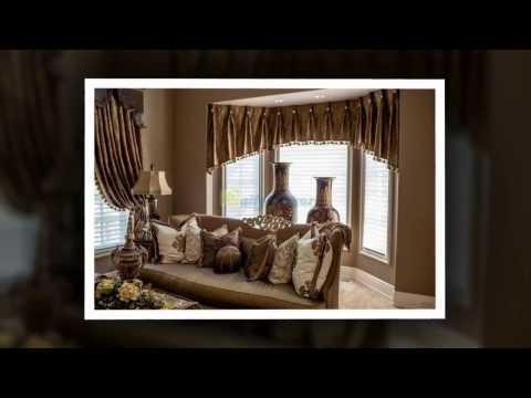 [Daily Decor] Living Room bay Window Curtain Ideas