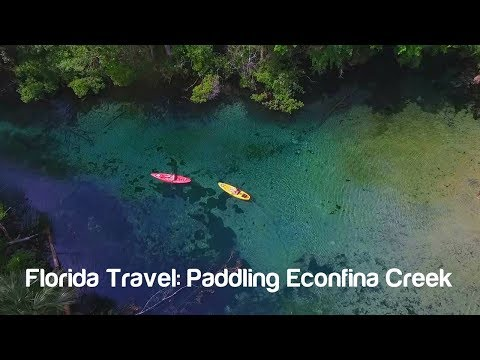 Florida Travel: Paddling Econfina Creek, Washington County, Florida