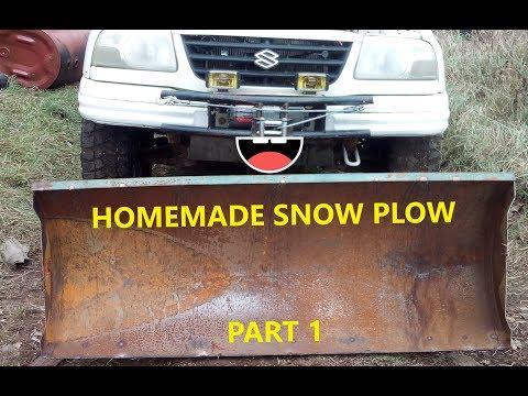 DIY ATV/UTV Snow Plow (Part1)