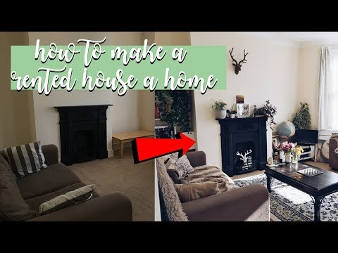 6 TIPS ON HOW TO MAKE A RENTED HOUSE A HOME! (room tour)