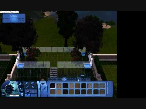 How to make a garden in Sims3, easlily