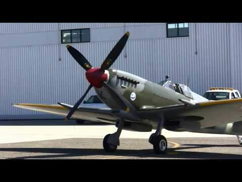 Supermarine Spitfire LF IXe - Historic Flight Foundation