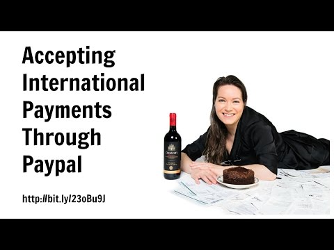 Accepting International Payments Through Paypal