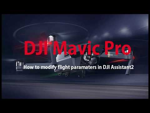 DJI Mavic - How to modify flight parameters for altitude ceiling removal