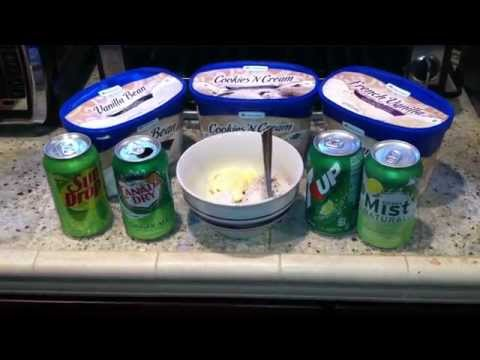 Vanilla Ice Cream With Canada Dry Ginger Ale Recipe