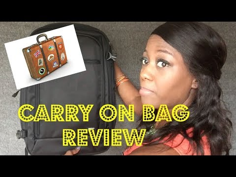 Amazon Basics Carry On Backpack Unboxing
