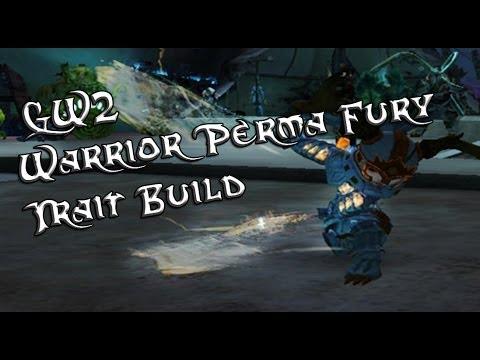 Guild Wars 2 Warrior Sword Perma Fury Trait Build
