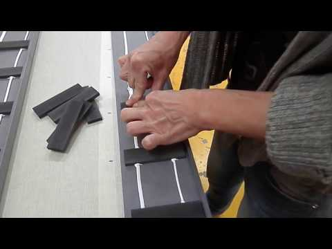 WOODMAN: Fast gluing of spacers to the skirting boards