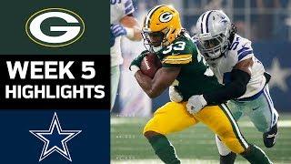 Packers vs. Cowboys | NFL Week 5 Game Highlights