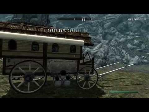 Skyrim Gypsy Eyes Caravan Your Horse Saving And Loading