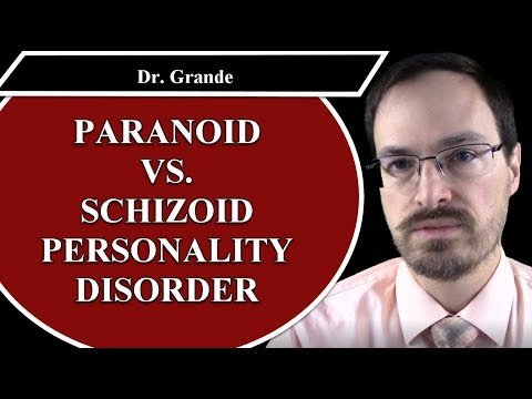 What is the difference between Paranoid Personality Disorder and Schizoid Personality Disorder?