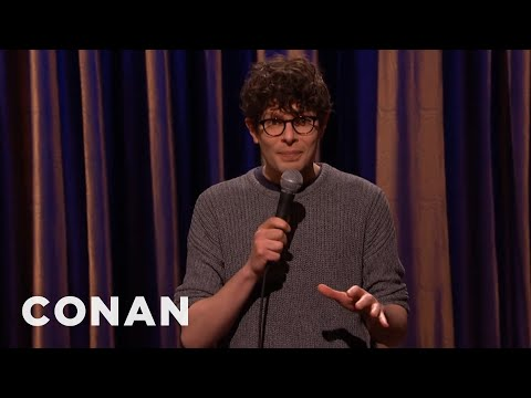 Simon Amstell Stand-Up 01/14/15  - CONAN on TBS