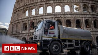 Coronavirus: Italy virus deaths rise but infections slow again - BBC News