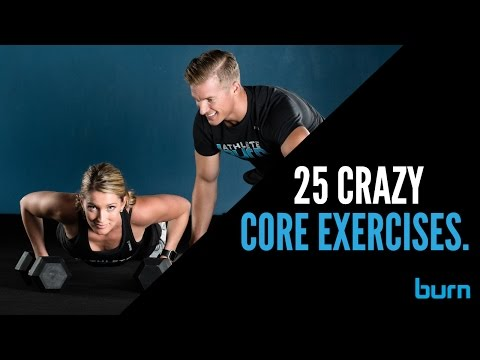 25 Crazy Core Exercises for Rock Hard Abs