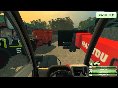 Down On The Farm #1 - Feeding The Cows - Farming Simulator 2013