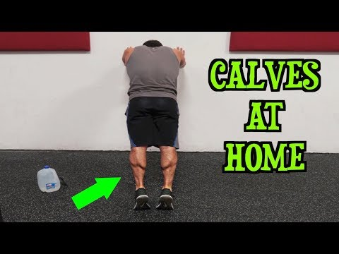 Intense Tabata At Home Calf Workout (HIIT)