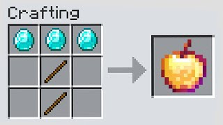 Minecraft Manhunt, But Crafts Are Random...