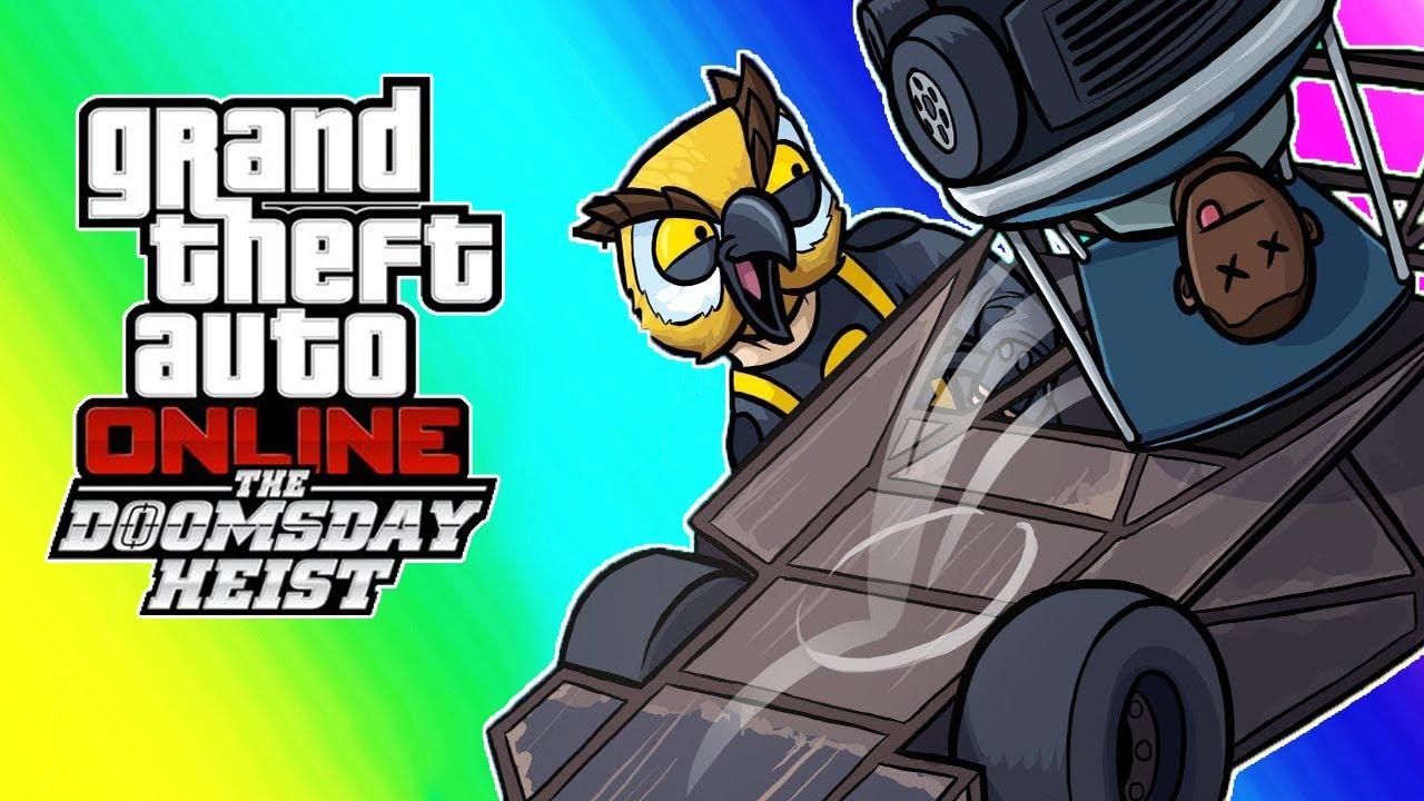 Vanossgaming All Grand Theft Auto 5 Doomdays Heist