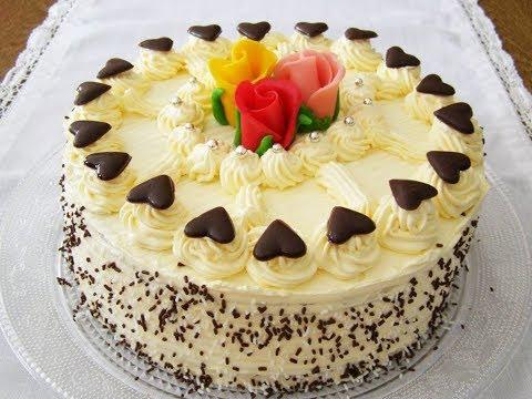 How To Make Easy Pineapple Cream Cake At Home - Homemade Pineapple Cake - cake recipe in urdu/hindi