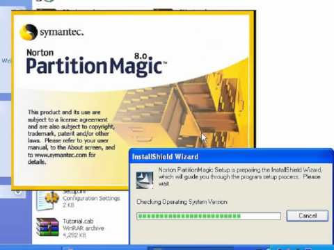How to merge partitions and make new partitions using partition magic on window xp