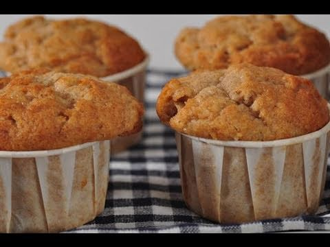 Banana Muffins Recipe Demonstration - Joyofbaking.com