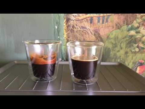 Espresso shot comparison | Freshly ground vs pre-ground | Standard basket vs Dual wall basket