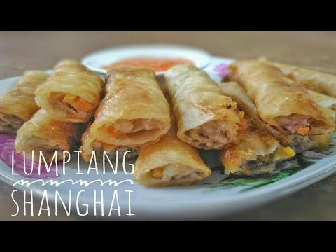 6 Ingredients Lumpiang Shanghai / Filipino Spring roll | Food Bae