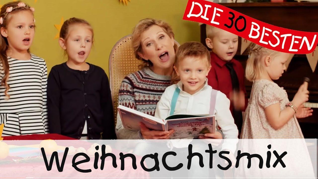 Weihnachtsliedermix (30 Minuten zum Mitsingen, Tanzen und Bewegen) || Kinderlieder