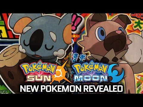 Pokemon Sun & Moon New Pokemon Revealed w/ JayYTGamer! [Nekkoala & Iwanko]