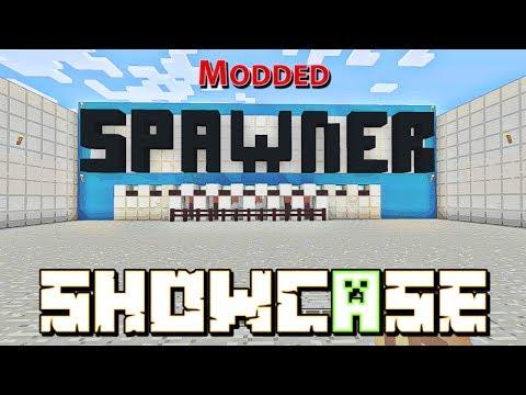 Minecraft: Modded Spawner Showcase W/Download