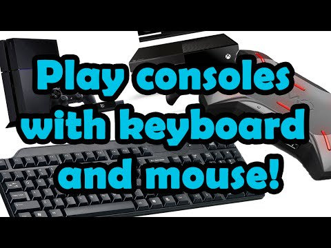 How to play Xbox one/Ps4/Xbox 360/PS3 with keyboard and mouse (Xim 4)