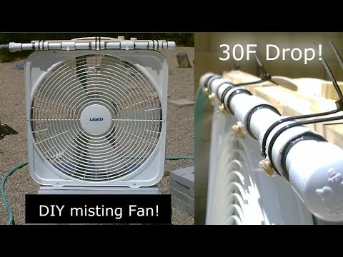 DIY Evap Cooling Fan! - Homemade