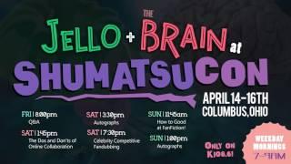 Jello & Plaster at Shumatsucon! (April 14-16th in Columbus, OH!)