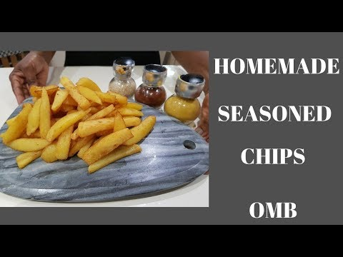 HOW TO PREPARE HOMEMADE CHUNKY CHIPS  VALENTINE 2018