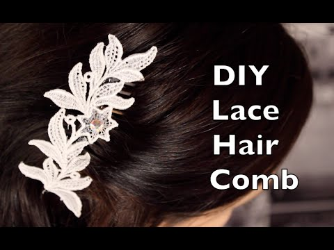 How To Make Lace Hair Accessories