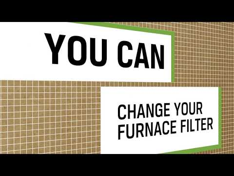 You Can Change Your Furnace Filter