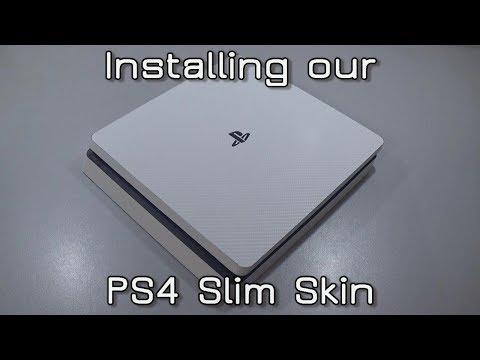 How to install our PS4 Slim Skin