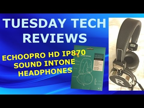TTR: ECHOOPRO HDIP870 STEREO HEADSET WITH MIC UNBOXING AND REVIEW