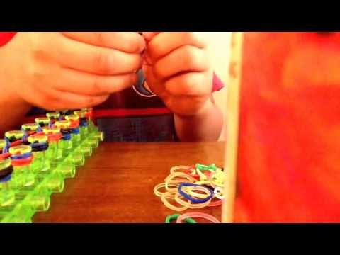 How to make a triple braided rainbow loom bracelet new 2014 New 2014