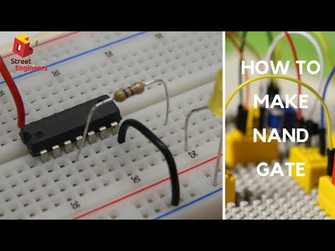 How to make a NAND (Universal) gate
