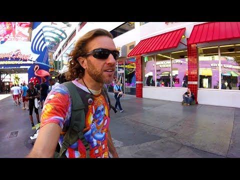 Las Vegas is Wild! The Fremont Street Freak Scene