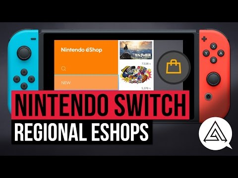 Nintendo Switch | How to Access Different Regional eShops - US, Japanese & Europe