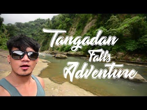 Hiking to Tangadan Falls at San Gabriel, La Union - Travel Vlog 3